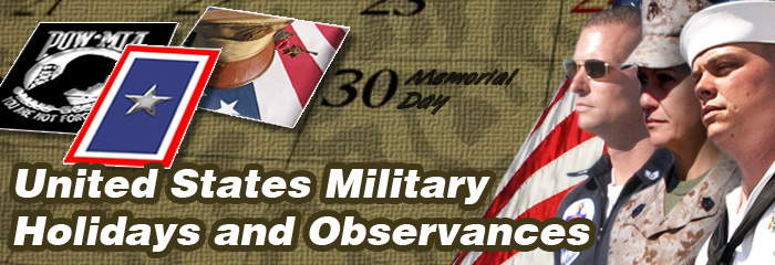 Military Holidays and Observances